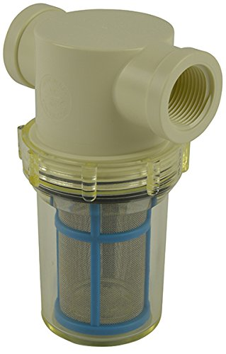 3/4'' Female NPT Raw Water Strainer with 50 mesh stainless steel screen by VacMotion Inc.