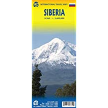 SIBERIA Travel Reference Map