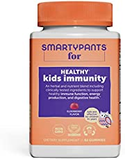 SmartyPants Kids Formula Daily Gummy Multivitamin: Vitamin C, D3, and Zinc for Immunity