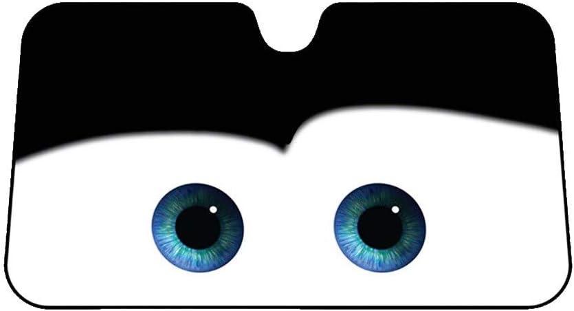 Car sun visor Im/ágenes De Dibujos Animados Universal Parabrisas Ventana Delantera Coche Visera Solar Cubierta Rayos UV para Mujeres Ni/ños Color:Amarillo 1 Paquete