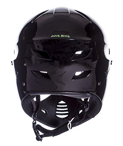 AWE FREE 5 YEAR CRASH REPLACEMENT Full Face Helmet Black Large by AWE (Image #3)