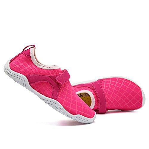 Cior Fantiny Ragazzi & Ragazze Scarpe Da Acqua Leggerezza Comfort Suola Facile Camminare Scivolare Atletica Su Aqua Sock (bambino / Bambino / Bambino Grande) F.pink