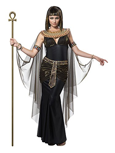 [California Costumes Women's Cleopatra Adult, Black, Large] (Ancient Egypt Costumes)
