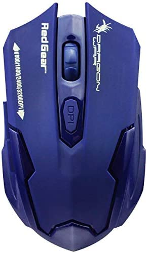 Red Gear Dragonwar Emera ELE-G11 3200 DPI Gaming Mouse (Dark Blue)