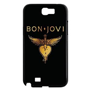Cool American Rock Band Bon Jovi Series Samsung Galaxy Note 2 N7100 Back Case Protector-3