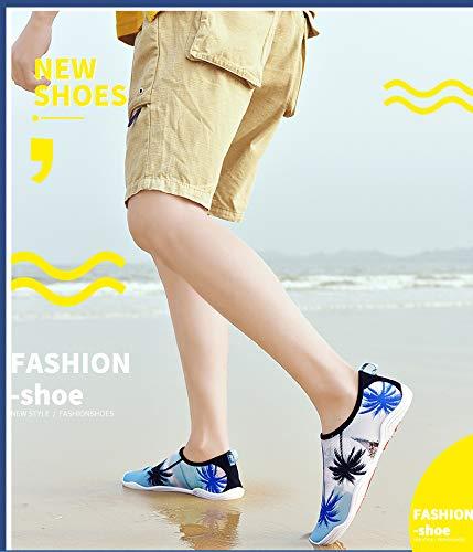 Unisex Männer Frauen Outdoor Schuhe Mode Atmungsaktives Mesh Komfortable Slip Slip Slip On Sommer Outdoor Wasser Schuhe B07P9DPSPM Kletterschuhe Moderner Modus f75b44