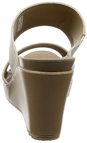 Crocs Leigh Ii 2 Strap Wedge Havermout