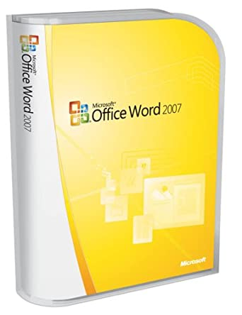 Amazon.Com: Microsoft Word 2007 [Old Version]