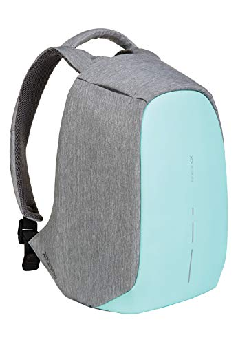 XD Design Bobby Compact Anti-Theft Laptop USB Backpack Mint Green Unisex Bag