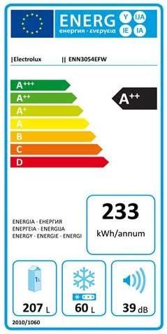 Electrolux ENN3054EFW Integrado 267L A++ Blanco nevera y ...