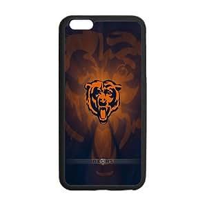 Onshop Custom Chicago Bears Logo Pattern Phone Case Laser Technology for iPhone 6 Plus
