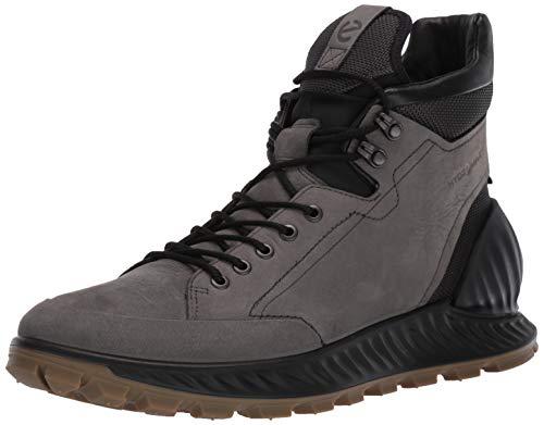 ECCO Men's Exostrike Hydromax Hiking Boot, Dark Shadow Yak Nubuck, 46 M EU (12-12.5 US)