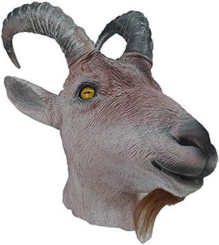 Hengyutoy Mask Máscara de cusfull Novedad Látex de látex de Caucho ...