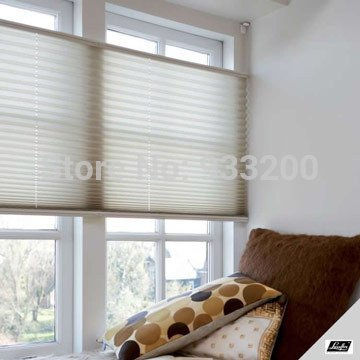 Rask Blackout Plisse Shades Top-Down/Bottom-Up Blinds Fit Window size WX-67