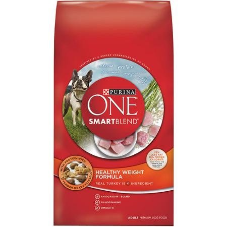 Purina ONE SmartBlend Healthy Weight Formula Adult Premium Dog Food 8 lb. (Purina Healthy One Weight)