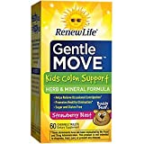 Renew Life Gentle Move Kid's Colon Support, 60 Chewable Tablets