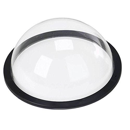 Diameter 9.6\ Multi-Purpose Acrylic Polycarbonate Dome Plastic Hemisphere, Transparent Fence Window for Dogs (Diameter 9.6 )
