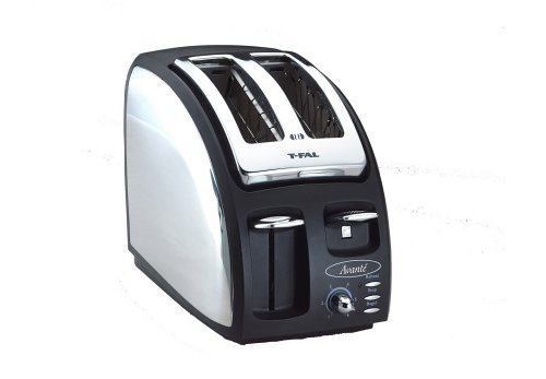 T-fal 8747000B Avante Deluxe Chrome Accents 2-Slice for sale  Delivered anywhere in USA