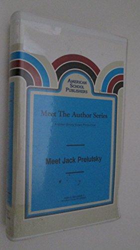 Meet Jack Prelutsky (Meet the Author Series) [VHS Tape] 1992 -