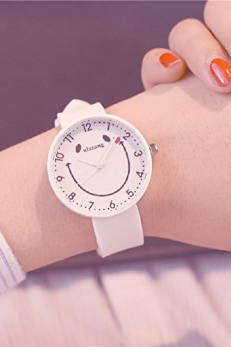 - Fashion Cute Candy Colored Jelly Waterproof Watch Women Girls high School Students Unique Gift Trend Woman