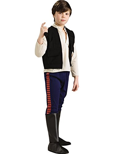 Star Wars Deluxe Han Solo Child's Costume, (Han Solo Star Wars Costume)
