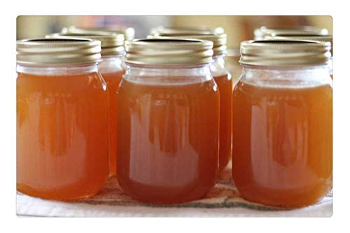 Indoor Floor Rug/Mat (23.6 x 15.7 Inch) - Jelly Peach Jelly Canning Preserve Homemade ()