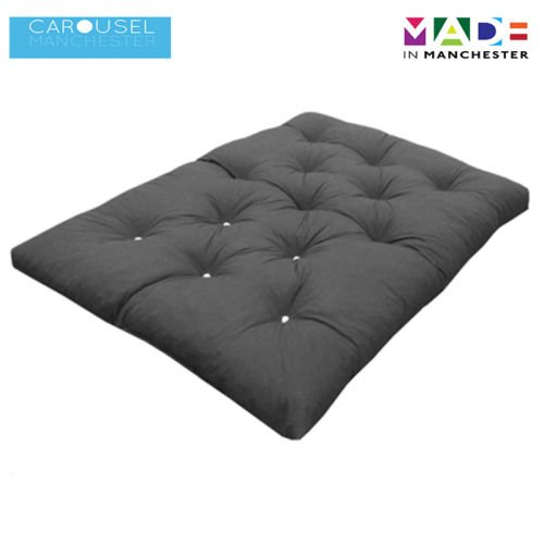 triple 3 seater memory foam futon mattress roll out bed guest bed