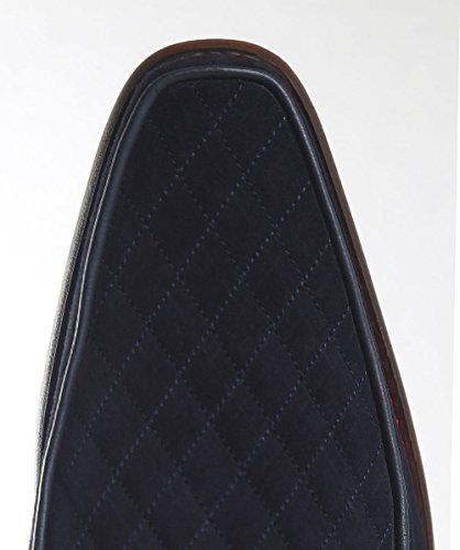Jeffery West Uomo Scarpe in Pelle Scamosciata Diamante Gibson Melly Blu Marino Blu marino