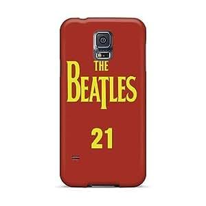 Samsung Galaxy S5 AAu9079lguu Provide Private Custom Colorful The Beatles Pattern Perfect Hard Phone Case -IanJoeyPatricia