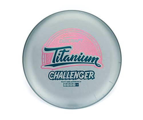 Discraft Titanium Challenger Putt and Approach Golf Disc [Colors May Vary] - 170-172g