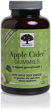 New Nordic Apple Cider Gummies, 60 Count, Pack of 2 2
