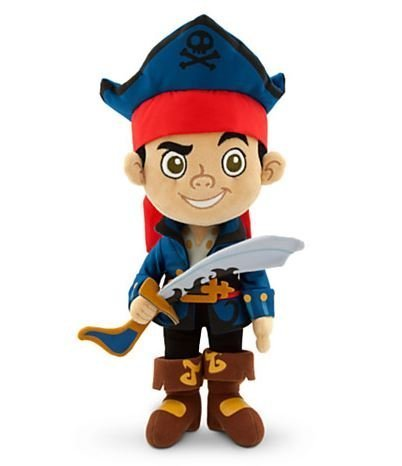 Captain Jake Plush - Jake and the Never Land Pirates - Small - 12'' by Disney (Jake And The Neverland Pirate Boots)