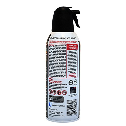 Dust-Off Disposable Compressed Gas Duster, 10 oz Cans, 2 Pack (5 Pack(10oz)) by Dust-Off (Image #2)