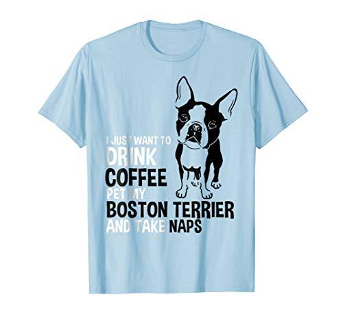 Boston Terrier Tshirt Boston Terrier Shirts For Women Men ()