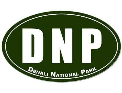 Amazon com: MAGNET Oval DNP Denali National Park Magnetic