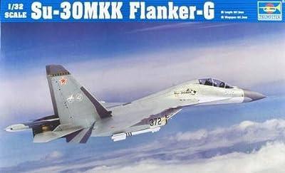 Trumpeter 1/32 Sukhoi Su30MKK Flanker G Aircraft Model Kit