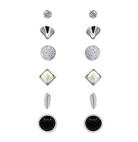 Shoopic Assorted Earrings Geometric Piercing