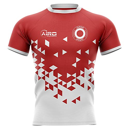 Airosportswear 2019-2020 Japan Home Concept Rugby Football Soccer T-Shirt Jersey - Kids (Soccer Home Japan Jersey)