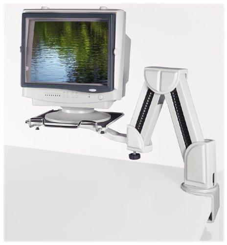 Fellowes 91705 Adjustable Monitor Arm (Platinum)