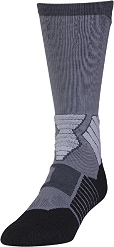Basketball Seule Homme Paire Armour Disque white Under Pour Graphite Chaussettes ISATwwF