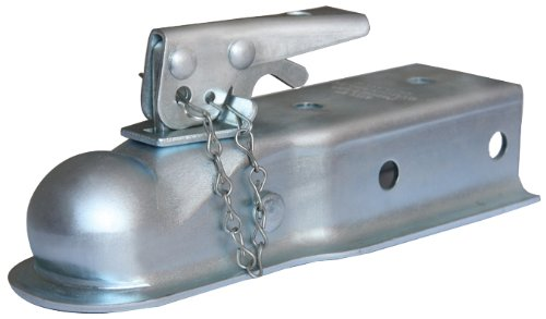trailer ball coupler - 2