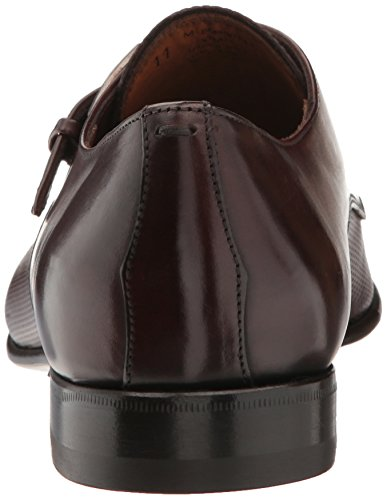 Bruno Magli Mens Vitale Oxford Marrone Scuro Traforato