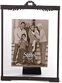 product image for Stiffel Carrington European Bronze 5-by-7-Inch Floating Picture Frame