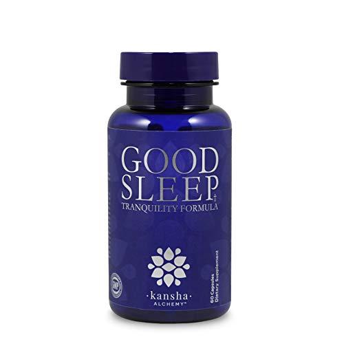 Natural Sleep Aid with Magnesium, Mucuna Puriens, L Theanine Melatonin and GABA Melatonin, Sleeping Pills with an Advanced Blend of Chinese Root Powders for Fulfilling Sleep, Sleep Pills (60)