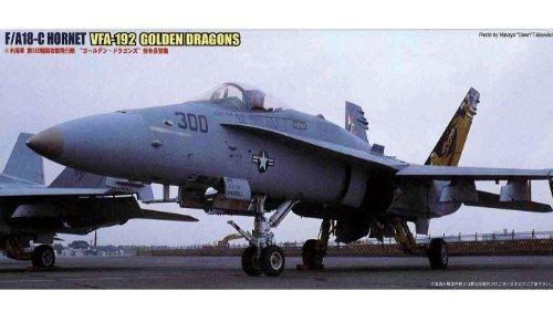 フジミ模型 1/72 F46 F/A18Cホーネットゴールデンドラゴンズ