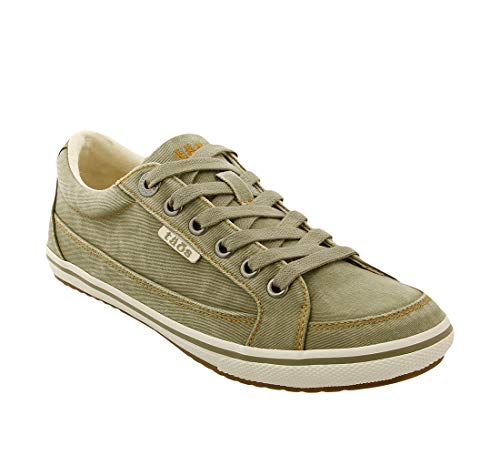 Taos Footwear Women's Moc Star Sage Distressed Sneaker 8 M US