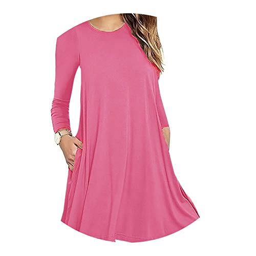 pursuit-of-self-CA Autumn Women's Solid A-Line Long, used for sale  Delivered anywhere in Canada