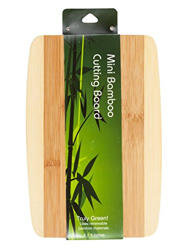 Brite Concepts Mini Bamboo Cutting Board, 6 by 9 Inches ()