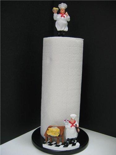 Italiano Fat Chef papel toalla soporte barra Bistro nuevo de cocina Decor Home - Nuevo.: Amazon.es: Hogar