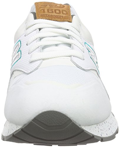 New Balance Cw1600 - Zapatillas Hombre Weiß (White/Orange)